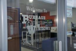Burbage Custom Windows Showroom