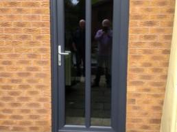 PVCu Entrance Doors